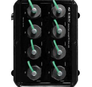NS-208-IP67: switch 8 portowy Ethernet